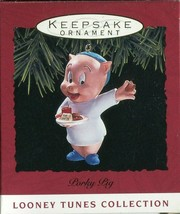 1993 - New in Box - Hallmark Christmas Keepsake Ornament - Porky Pig - $2.96