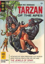Tarzan Comic Book #159, Gold Key Comics 1966 FINE+ - $14.49