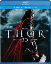 Thor (3D + Blu-ray + DVD)