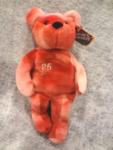 Salvino's Bammers Opening Day Spring 1999 Mark Mc Gwire #25 Red & White Bear~Nwt - $6.78