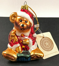 Boyds Bears 1997 QVC Limited Edition 252/1200 Glass Ornament C45538 with... - $18.38