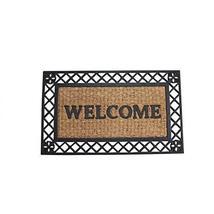 Bold Border Welcome Mat - $27.38