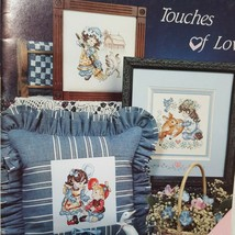 Touches Of Love Cross Stitch Leaflet 81 Stoney Creek 1990 Boy Girl Count... - $14.99