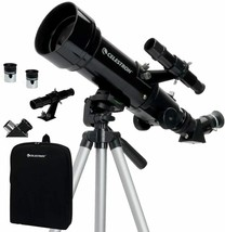 CELESTRON 70mm TRAVEL SCOPE PORTABLE COMPACT REFRACTOR TELESCOPE NEW - $99.00
