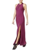 Guess Josee Printed Keyhole Maxi Dress Purple Size 2 - $48.51