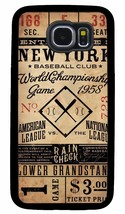 NEW YORK YANKEES MLB PHONE CASE FOR SAMSUNG NOTE & GALAXY S4 S5 S6 S7 S8... - $14.97