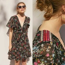 New Anthropologie Artemisia Floral Dress by Ranna Gill $168  X-SMALL  - $67.32