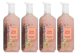 Bath & Body Works Peach Bellini Deep Cleansing Hand Soap  - Lot of 4 - $23.50