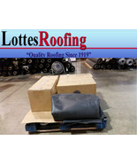 20' x 25'  BLACK 45 MIL EPDM RUBBER ROOFING BY LOTTES COMPANIES - $495.00