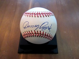 DANNY OZARK MANAGER 618 WINS PHILLIES GIANTS SIGNED AUTO VINTAGE BASEBAL... - $69.29