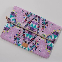 Mara Hoffman For Sephora Fold Over Clutch Purse Makeup Bag Purple - $19.79