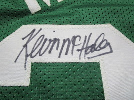 KEVIN MCHALE / NBA HALL OF FAME / AUTOGRAPHED BOSTON CELTICS CUSTOM JERSEY / COA image 4