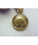 Vintage Villereuse 17 Jewel Incabloc Gold Tone Hunters Pocket Watch Pendant - $49.49