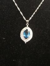 J&Y Jewelry- 925 Sterling Silver Light Blue Sapphire Stud Earrings [EAR-... - $19.80