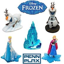 Officially Licensed Disney Aquarium Ornament Gift Set: Frozen Characters... - $49.50