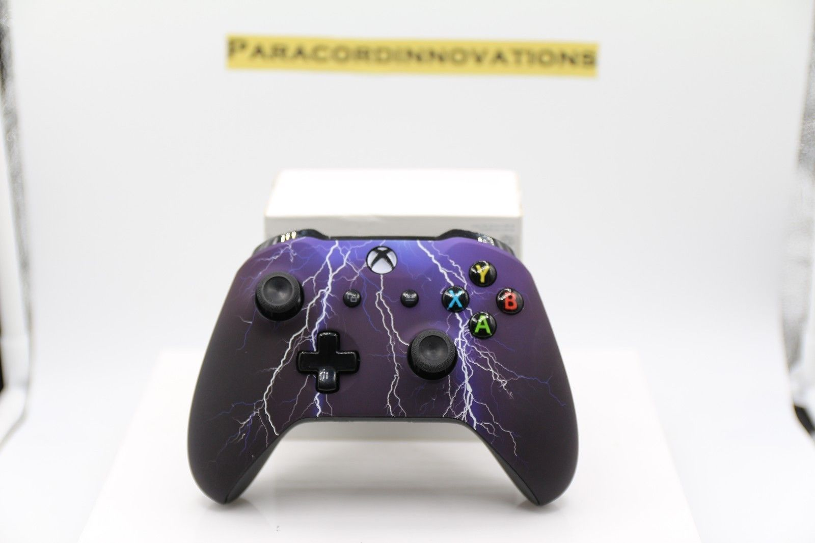 Xbox One/S/X Wireless Controller w/Soft Touch Purple Storm Face-1708 ...