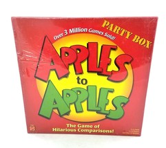 Apples To Apples Party Box Family Card Game Mattel 2007 BRAND NEW  - $24.63