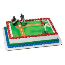 Batter Up-Baseball Edible Cake Topper DecoSet® Background - $9.99