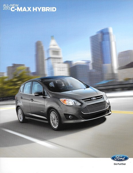 Primary image for 2013 Ford C-MAX sales brochure catalog US 13 HYBRID SE SEL