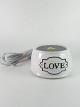 Scentsy Love Element Warmer Retired Collection ... - $29.99