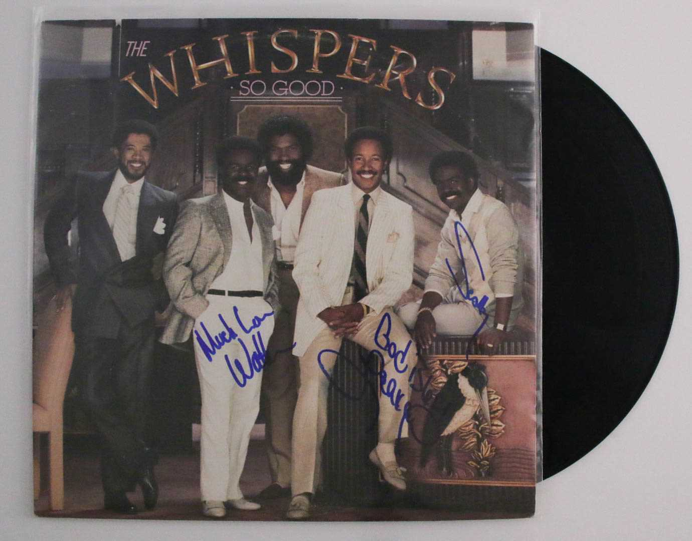 "Primary image for The Whispers Band Signed Autographed ""So Good"" Record Album"