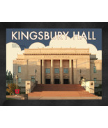 "University of Utah ""Kingsbury Hall"" 13 x 16 Art Deco Framed Print  - $39.95"