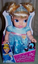 """My First Disney My Sweet Princess Cinderella 11"""" Baby Doll with Rattle New - $30.88"""