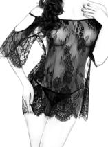 Women Chemises Lace Smock Lingerie Mini Babydoll S4XL image 9