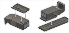 Easy Slider + Dust Cap Cover for LG Projector PF1000U HF65FA Korea Free Shipment image 5