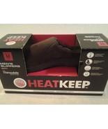 "Mens ""HEAT KEEP"" brown thinsulate memory foam clog style slippers sz M 8... - $12.86"