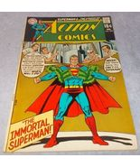 Vintage Action Comic Book February 1970 No 385 DC The Immortal Superman  - $9.95