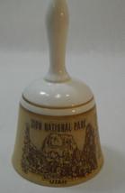 Vintage Ceramic Bell Zion National Park Utah Souvenir Monterey Japan - $18.95