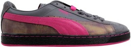 Puma Suede Classic Colorburn Steel Gray/Beetroot Purple 357104 03 Men's ... - $44.00