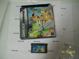 Chicken Shoot (Nintendo GameBoy Advance, 2005) IN ORIGINAL BOX - $2.95