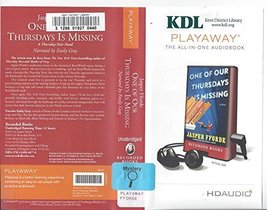 One of Our Thursdays Is Missing [Preloaded Digital Audio Player] [Jan 01... - $16.95
