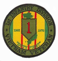 US Army 1st Infantry Division Vietnam Veteran Patch - $9.89