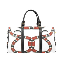 Gucci Style Snake Red White Luxury Travel Bag Gym Bag Spring Summer '19  - $129.97