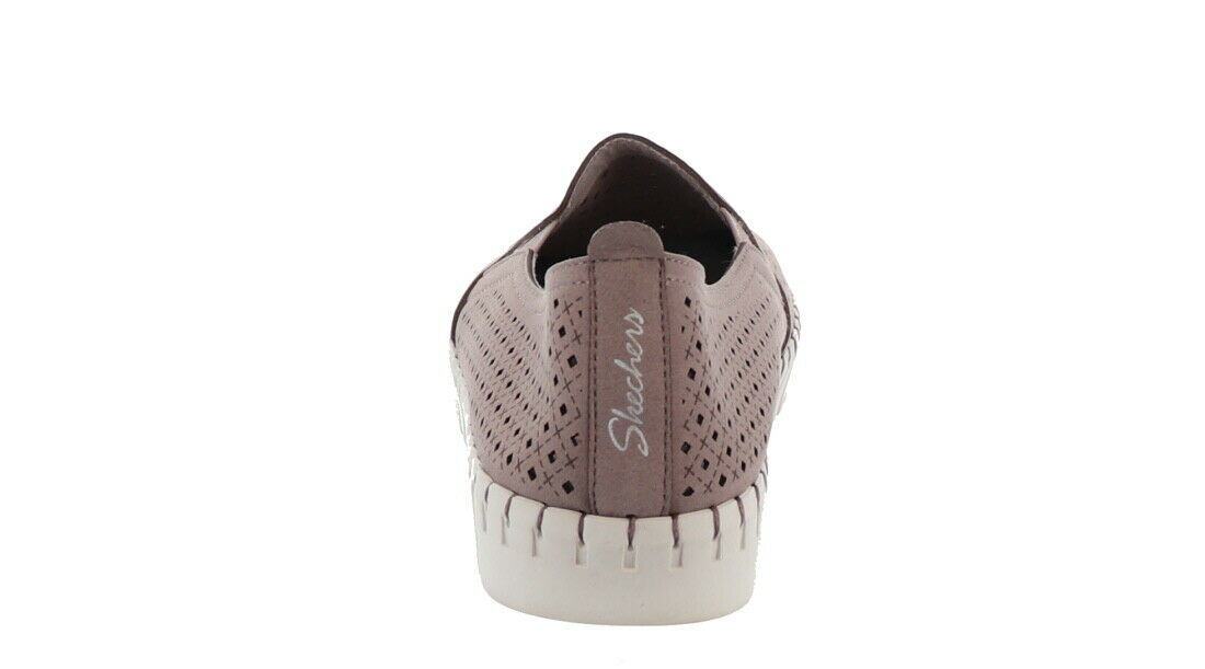 Skechers Perforated Slip-On Shoes Lilac 7.5M NEW A351840 image 2