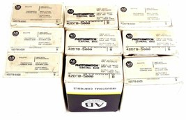LOT OF 9 NIB ALLEN BRADLEY 42DTB-5000 TERMINAL BASES SER B 42DTB5000