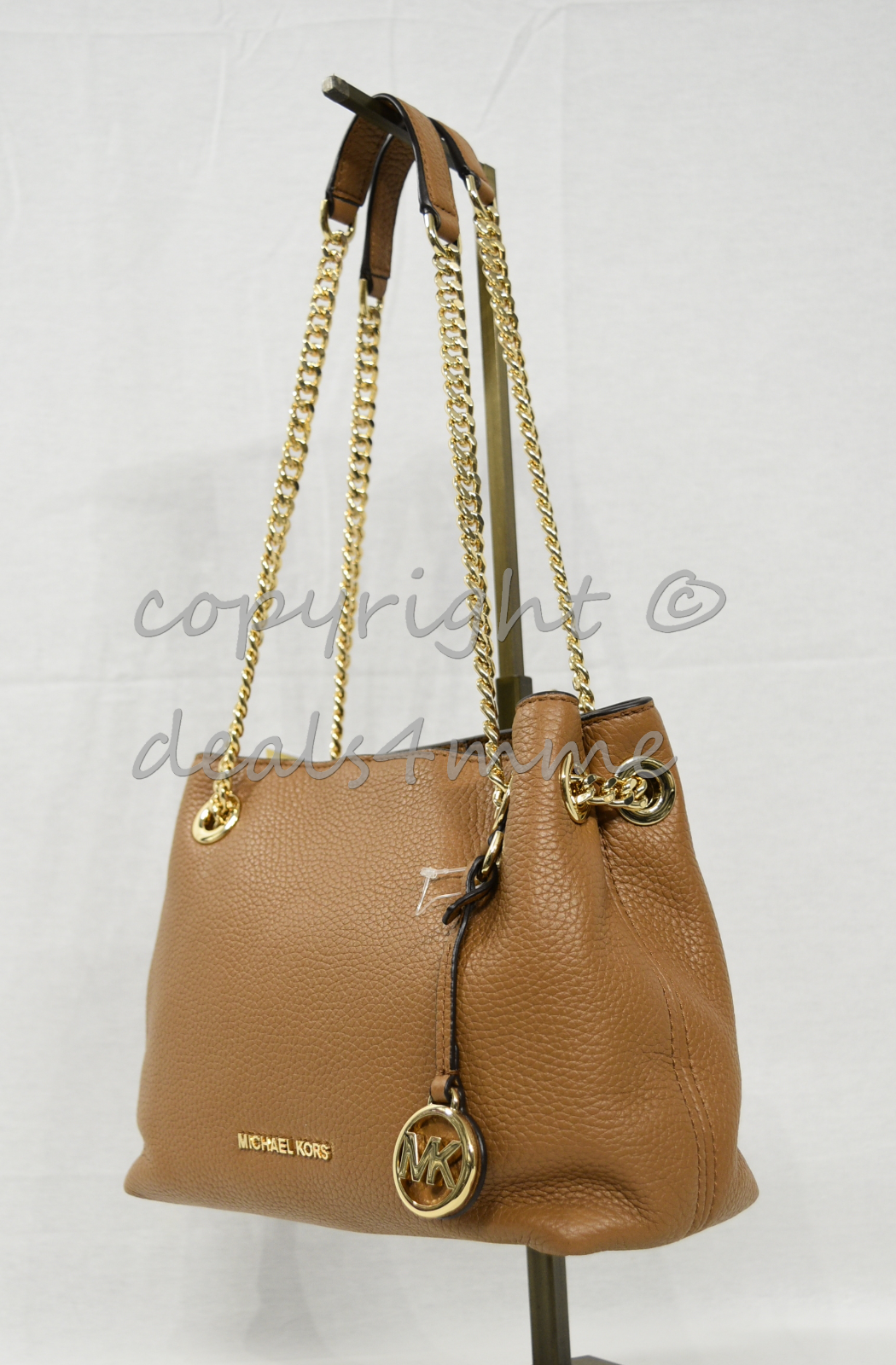 70d33f3e22fe S l1600. S l1600. Previous. Michael Kors Leather Jet Set North South Medium  Chain Messenger /Shoulder Bag