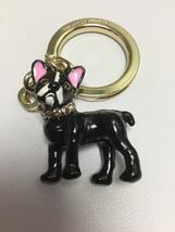 Kate Spade Jeweled Ma Cherie Antoine French Bulldog Keychain Charming New  - $32.99