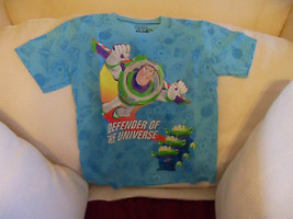 Disney Toy Story 3 Defender of The Universe Blue Shirt 4/5 Boys NEW HTF - $17.60