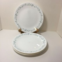 """6 Dinner Plates Country Cottage Corelle Corning Ware 10.5"""" Lavender Hearts - $24.18"""
