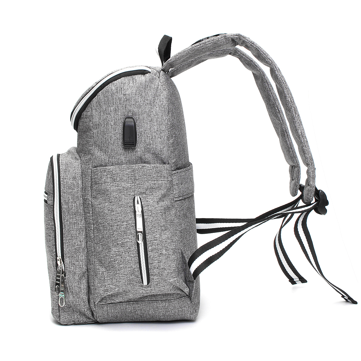 20L Multifunctional USB Mummy Nappy Backpack Maternity Baby Diaper Baby Nursing