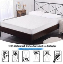 Cotton Terry Matress Cover 100% Waterproof Protector Cover For Mattress - $17.82+