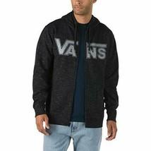 Vans Mens Classic Logo Full Zip Skateboarding Hoodie  Black/Grey, M - $55.43