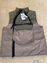 Nike NSW Tech Pack Utility Cargo Vest Olive Grey SZ Med CU3766 081 MSRP ... - $124.99