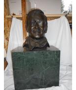 "Jay Capps John Wayne Bust Bronze !st Edition 24"" Tall - $2,425.50"