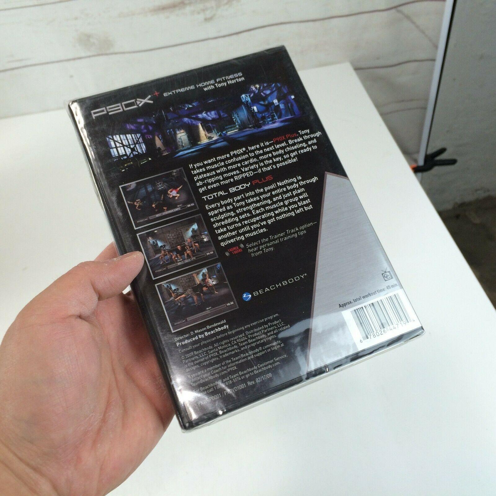 BEACHBODY P90X+ Extreme Home Fitness Total Body Plus with Tony Horton DVD NEW image 3