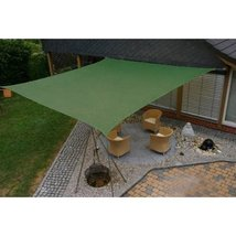 Modern Home Sail Shade Square (11.5' Sides) - Green - $26.68